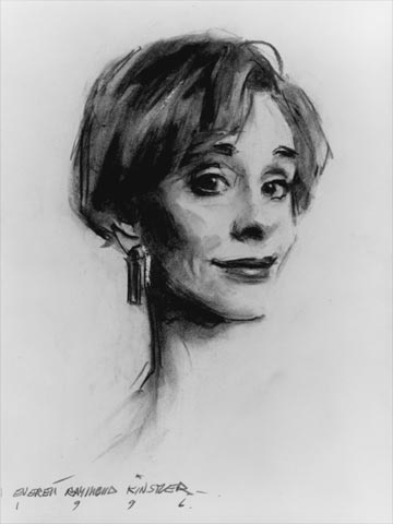 portrait-art-carol-burnett-charcoal-everett-raymond-kinstler