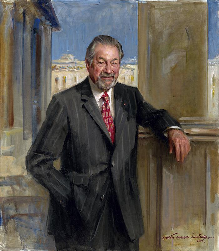 portrait-art-dennis-ausiello-evertt-raymond-kinstler