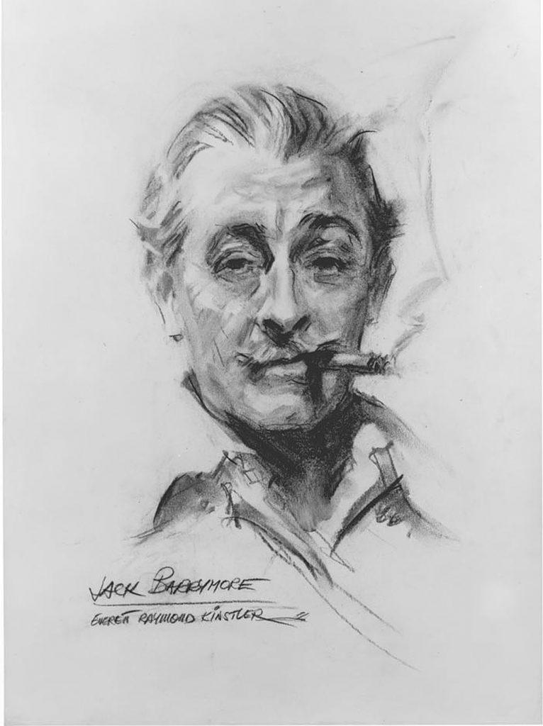 portrait-art-john-barrymore-everett-raymond-kinstler