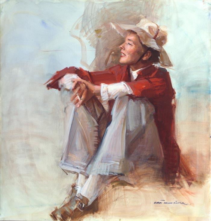 portrait-art-katharine-hepburn-seated-everett-raymond-kinstler