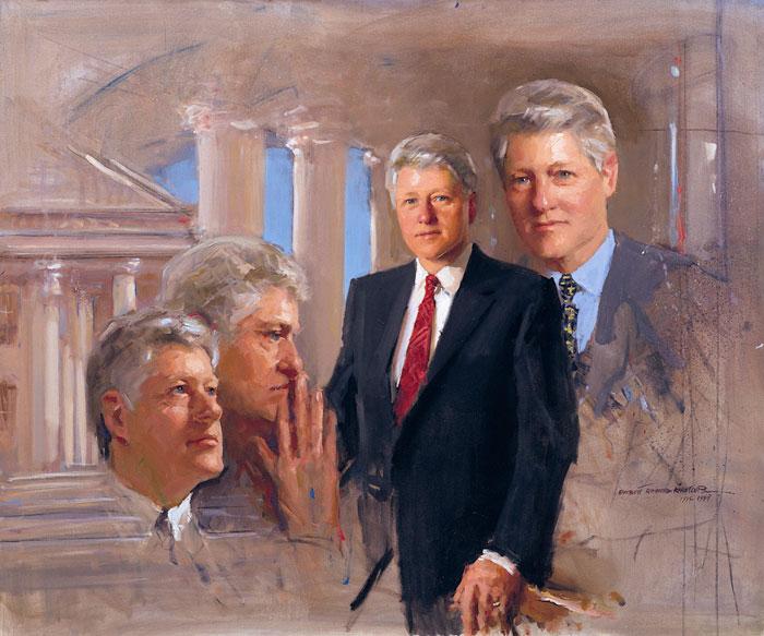 portraits-art-president-bill-clinton-study--everett-raymond-kinstler