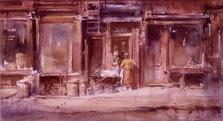 art-landscape-19th-street-everett-raymond-kinstler