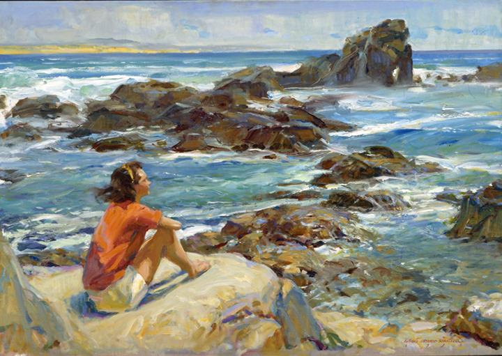 art-landscape-maui-everett-raymond-kinstler